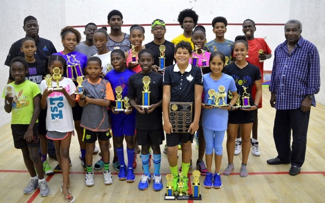 2016 Junior Nationals Winners and runners-up
