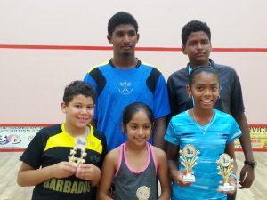 Barbados Squash Juniors St. Vincent 2015