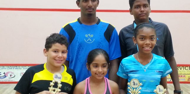 Barbados Squash Juniors St. Vincent 2015